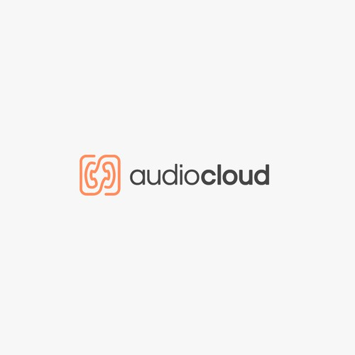 Storage logo with the title 'audiocloud'