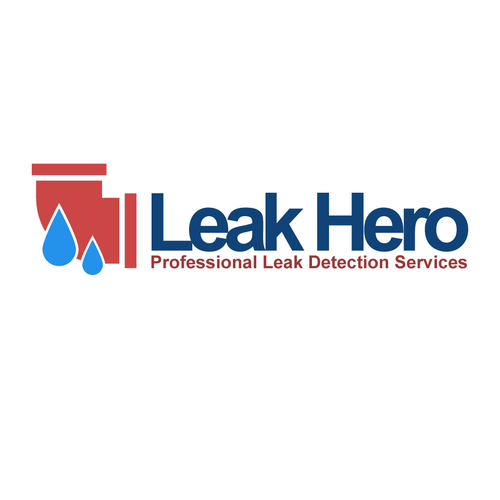Service provider logo with the title 'leak hero'