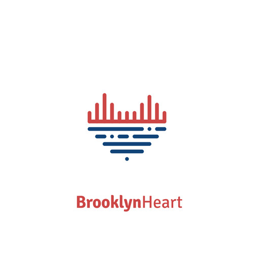 Brooklyn design with the title 'Logo for Brooklyn Heart'