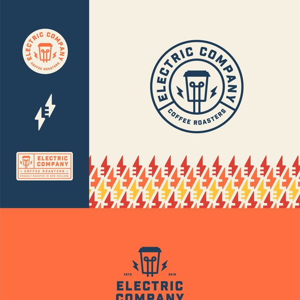 Roaster logo with the title 'Electric Company'
