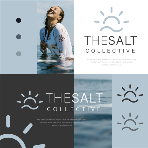Holistic design with the title 'The Salt Collective'