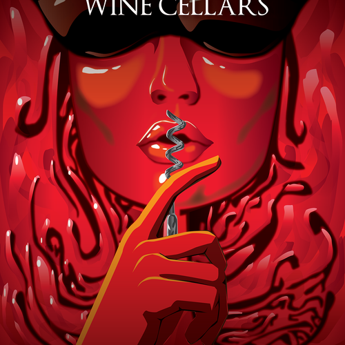 Wine artwork with the title 'poster'