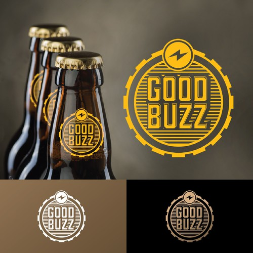 Appealing logo with the title 'Good Buzz'