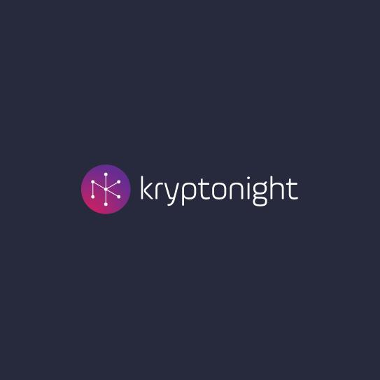 Constellation logo with the title 'kryptonight logo design'