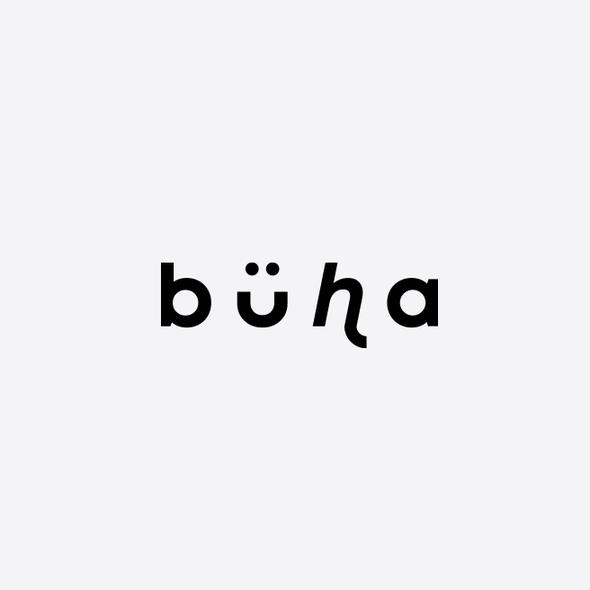 Weird design with the title 'b U h a'