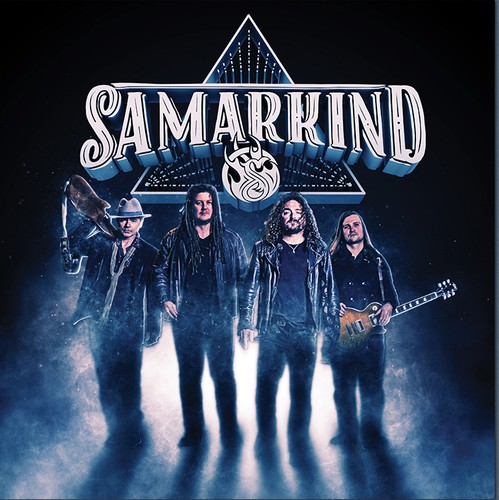 Cover illustration with the title 'Samarkind Album Cover'
