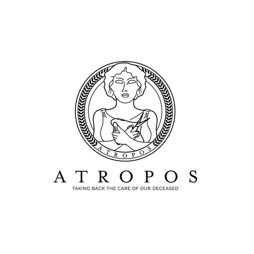 Thread design with the title 'Logo concept for Atropos'