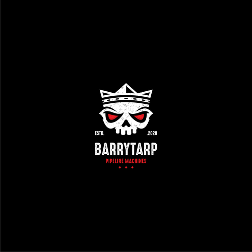 Awesome logo with the title 'BARRY TARP'