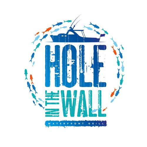 Coastal logo with the title 'Hole In The Wall'