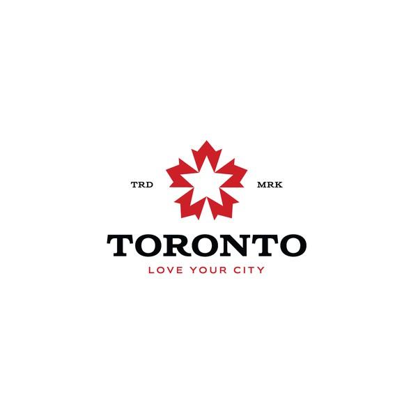 Toronto logo with the title 'Toronto'