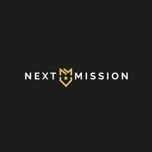 Veteran design with the title 'Next Mission logo'