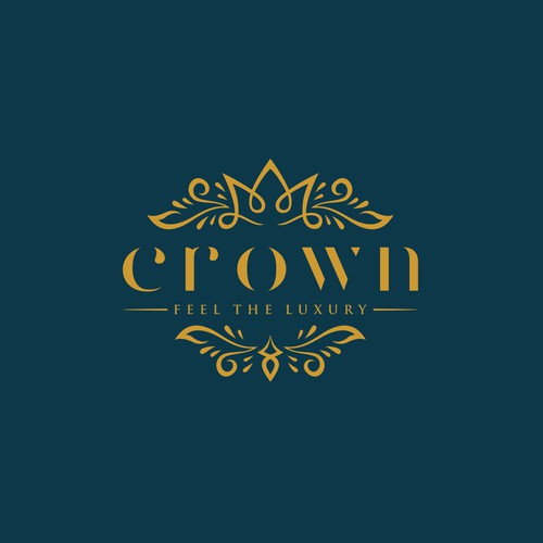 Pretty logo with the title 'A luxury logo design for beauty brand.'