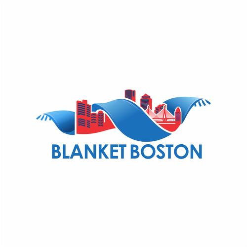 Boston design with the title 'logo for blanket boston'