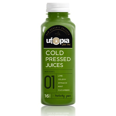 Healthy juice bottles