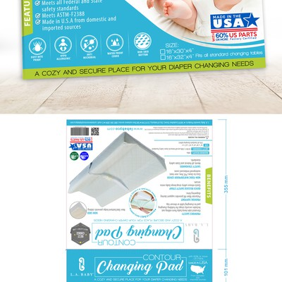 Changing Pad Packaging design