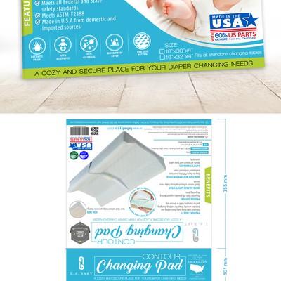 Changing Pad Packaging design