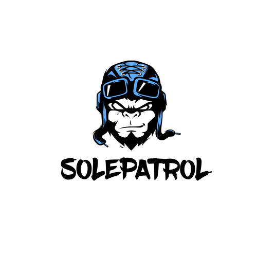 Ape design with the title 'Solepatrol'