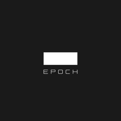 Timeless logo with the title 'Evocative, primary concept for industry incubator'