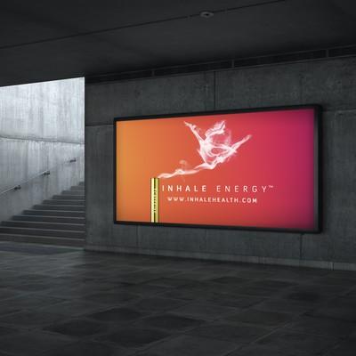 Inhale Health billboard