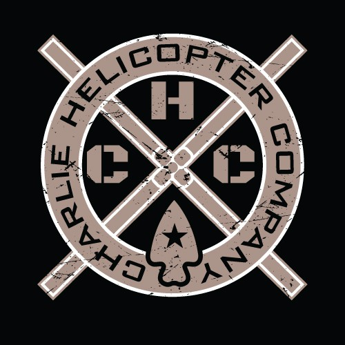 Army logo with the title 'Charlie Helicopter Company'