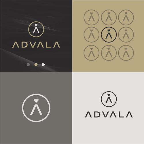 Luxury brand with the title 'ADVALA'