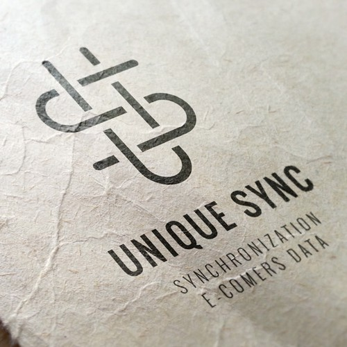 U logo with the title 'Unique Sync'