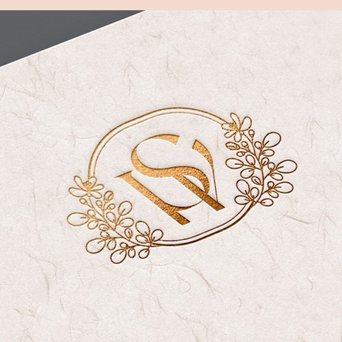 Spa brand with the title 'Luxury and elegant logo for candle company'