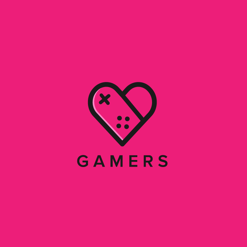 Gaming logo with the title 'Gamers'