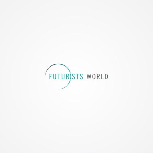 Futuristic design with the title 'Futurists World'