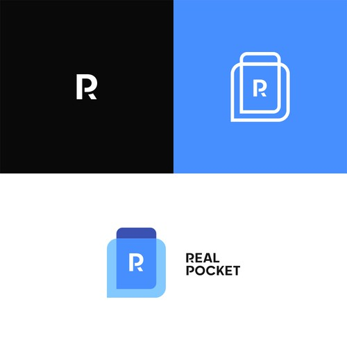 Pocket logo with the title 'RealPocket'