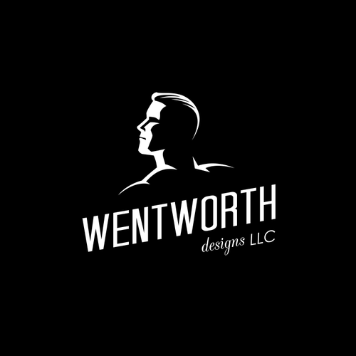 Dude logo with the title 'wentworth'