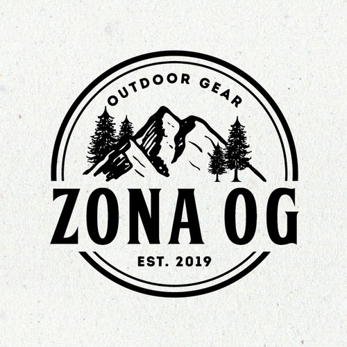 Vintage circle logo with the title 'ZONA OG'