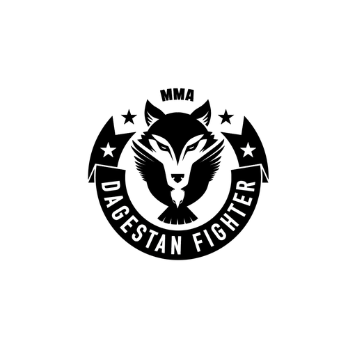 Krav Maga logo with the title 'MMA Dagestan Fighter'