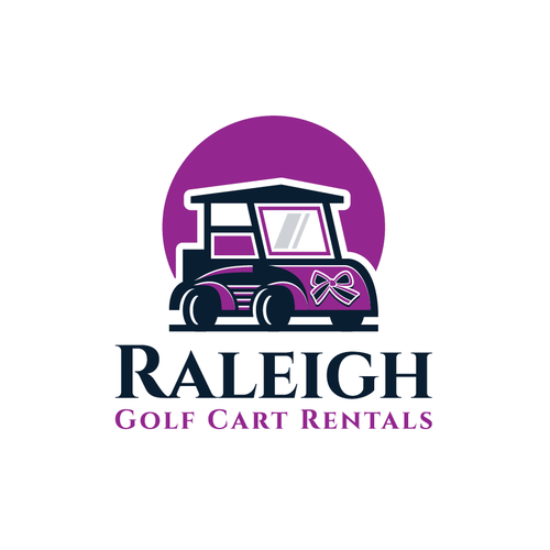 Cart logo with the title 'Golf Cart'
