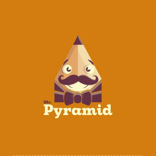Figure design with the title 'Mr. Pyramid'