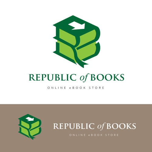 Ebook logo with the title 'Republic Of Books'
