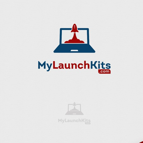 Fly logo with the title 'LaptopLaunch'