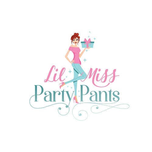 Event planning design with the title 'Party Planning Website logo'