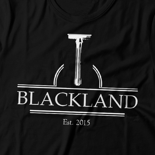Elegant t-shirt with the title 'T-shirt for company creates elegant and high-end machined safety razors'