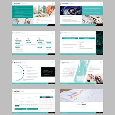 Quantard Powerpoint Template Design