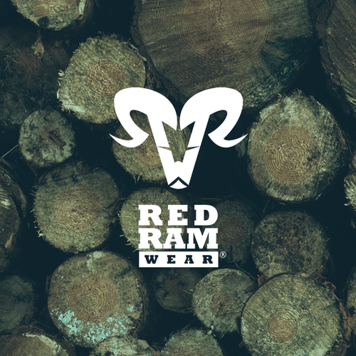 Ram design with the title 'Bold logo for RED RAM WEAR'
