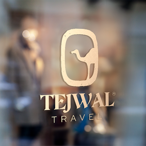 Middle East design with the title 'Travel Logo Design'