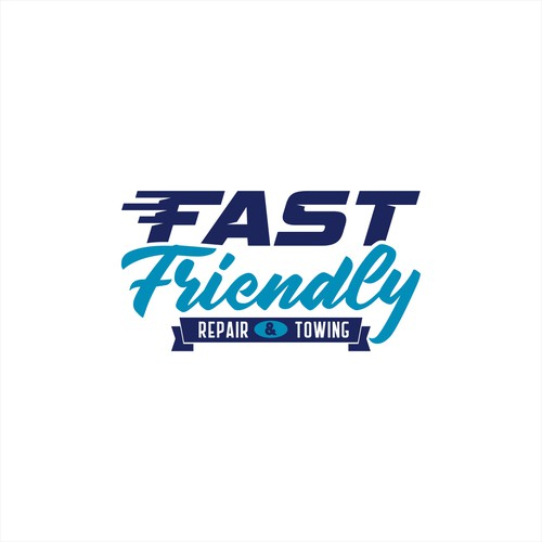 Car care logo with the title 'Winner of Fast Friendly Repair & TowingContest'