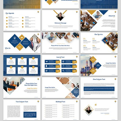 Consulting Firm - PowerPoint Template