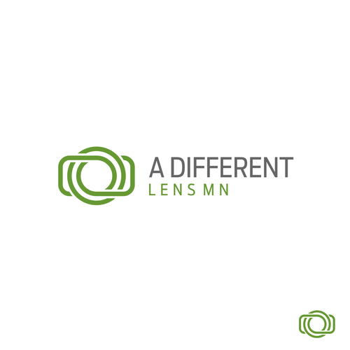 Photography logo with the title 'A Different Lens MN'