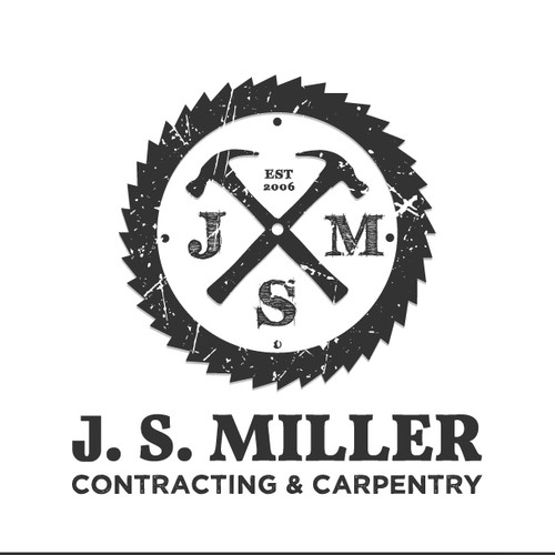 Contractor logo with the title 'classic , cool logo for craftsman carpenter'