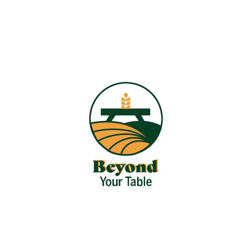 Foodie design with the title 'Bold logo concept for a agriculture blog'