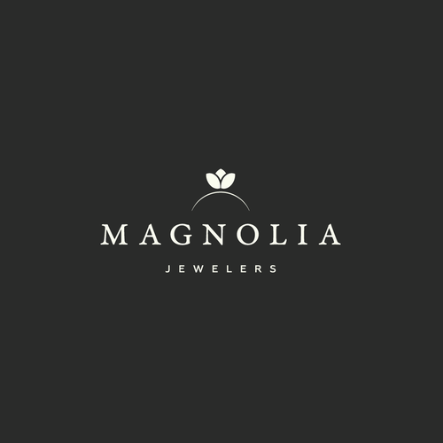 Jewelry brand with the title 'Logo design for the Magnolia Jewelers'