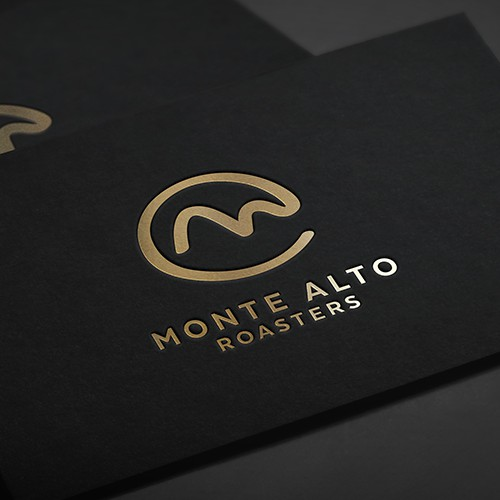 Clean brand with the title 'Logo for a coffee roaster.'