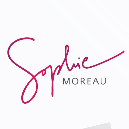 Lovely design with the title 'Sophie Moreau Brand Identity Pack'